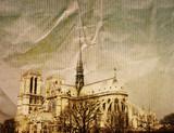 retro style Parisian streets