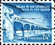 Palace of the Governors Sante Fe New Mexico.US Stamp