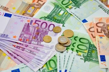 Bargeld Euroscheine