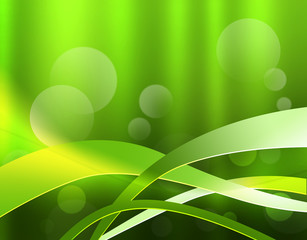 緑のウェーブ