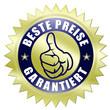 beste preise garantiert button gold daumen hoch