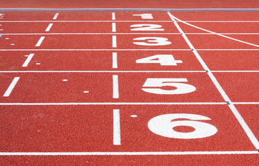 Running Track Finish