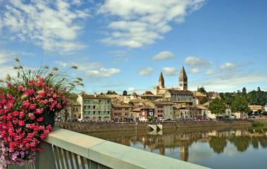 Tournus e Saone, Borgogna