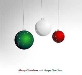 Italian Christmas background