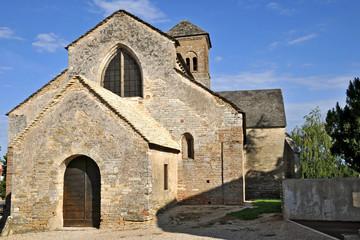 Sennecey le Grand, Borgogna, chiesa di Saint Julien
