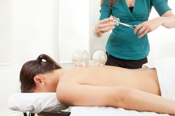 Cupping Acupuncture Treatment