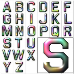 abc alphabet font background airborne design