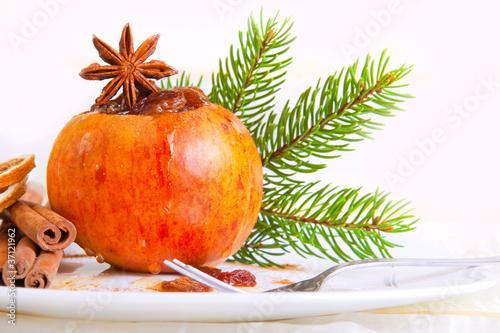 Bratapfel, Weihnachten