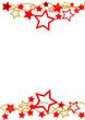 Weihnachtenrahmen Sterne