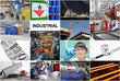 Industrie Technologie Collage