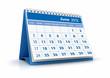 Calendario 2012. Junio