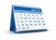 Calendario 2012. Julio