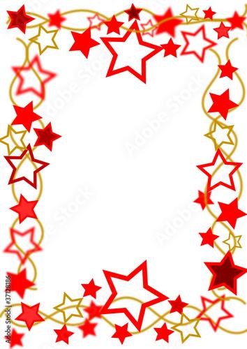 Weihnachtsrahmen Sterne