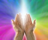 Shaft of healing Light poster