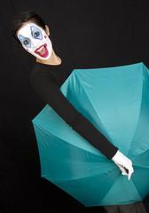 Umbrella Clown Style
