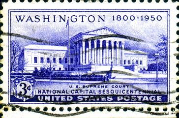 Washington. US Supreme Court. 1850. US Postage.