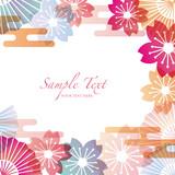 Fototapety japanese motif background