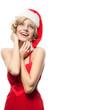 woman beauty christmas