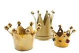 Three golden crowns