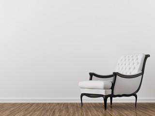 white chair room