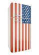 US flag fridge