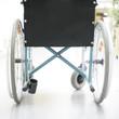 Rollstuhl mittig