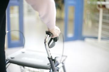 Rollator im Pflegeheim