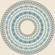 vector  circle  vintage pattern