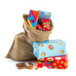 Bag full of Sinterklaas presents