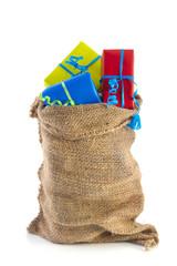 Bag full of Sinterklaas presents