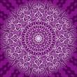 Round decorative pattern