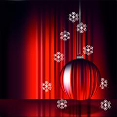 Weihnachten / Jahreswechsel / Modern/ rot12