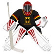 Team Germany hockey goalie