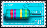 Postage stamp Germany 1994 Georg Simon Ohm