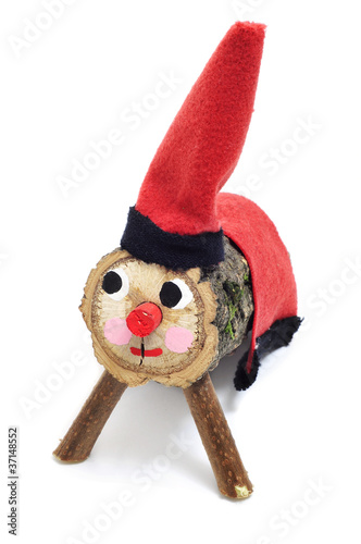 Tio de Nadal, typical of Catalonia, Spain