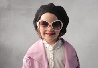 Fashionable child