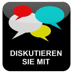 Wb Button - Diskutieren Sie mit
