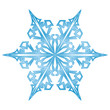 Eiskristall, Schnee, Zeichen, Symbol, Glatteis, Eis, Form