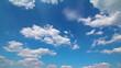 Timelapse clouds loop,no birds