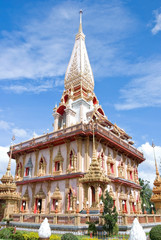a temple is Chalong