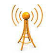 Orange Antenna Tower
