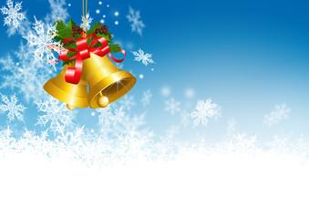 Weihnachtsglocke, Winterzeit, Weihnachten, Schneekristalle, Eis