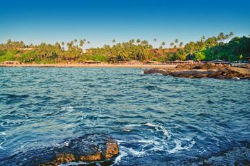 The Indian beach