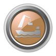 """Bronze 3D Style Button """"Harbor"""""""