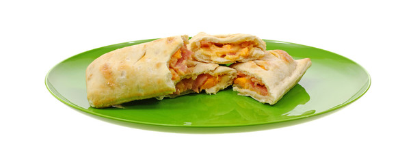 Open Ham and Cheese Turnovers
