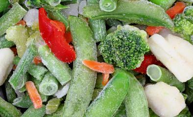 Frozen Stir Fry Vegetables Close View