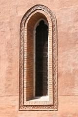 okno kościoła san polo