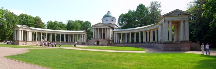 burial vault of prince Yussupov in Arkhangelskoye Estate. Moscow