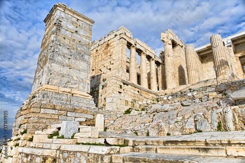 Entrance to Acropolis - Propilea in Athens