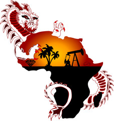 Dragon at Africa